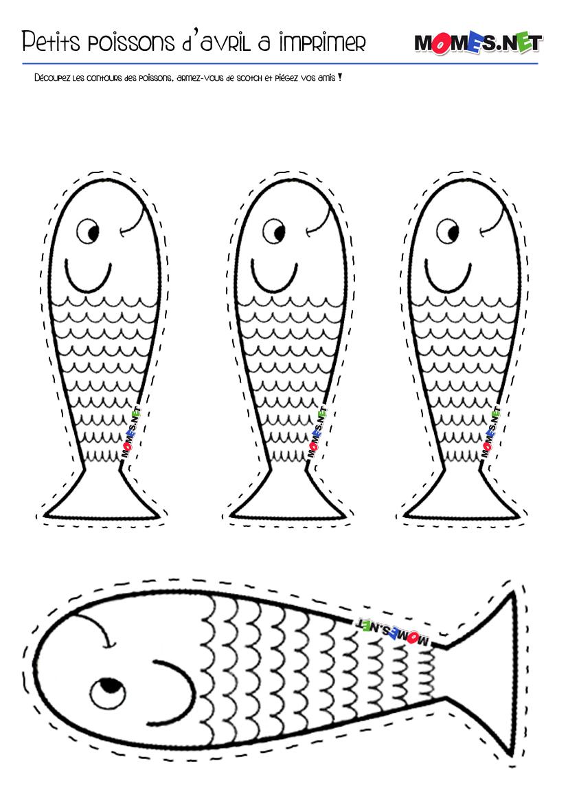Coloriage de poissons a imprimer gratuit liberate - Poisson d avril a imprimer coloriage ...