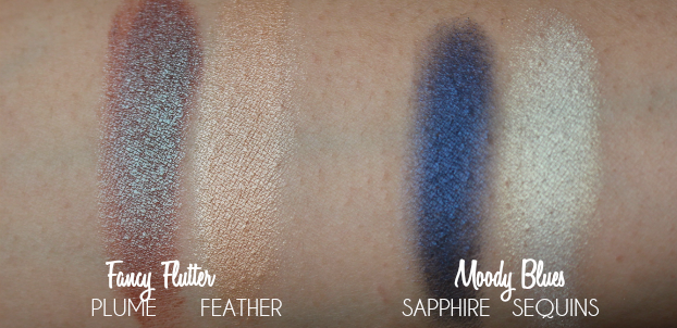 butter LONDON ShadowClutch Customizable Colour Palettes, Review, Swatch, Fall Makeup, fancy flutter, moody blues