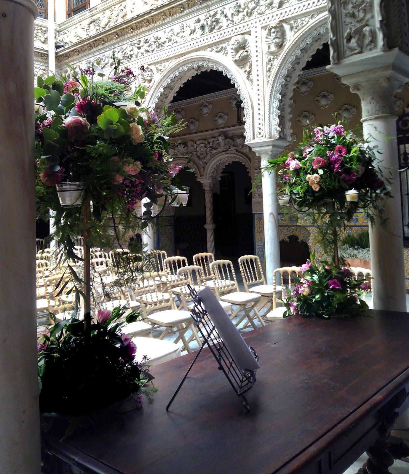 La decoraci n floral en el altar de tu boda c rtamo - Decoracion sevilla ...