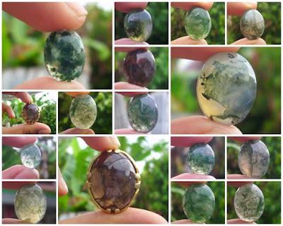 Batu Akik Lumut Suliki