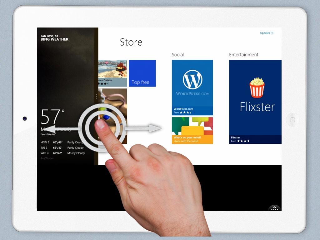 Cara Menonaktifkan Fitur Swipe Windows 8