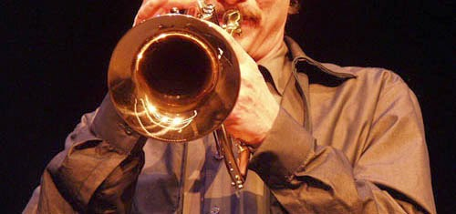 Picture of a trumpet player