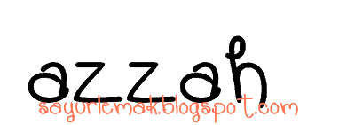 Azzah sayurlemak.blogspot.com