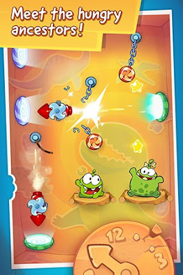 Cut the Rope: Time Travel for Android and iOS