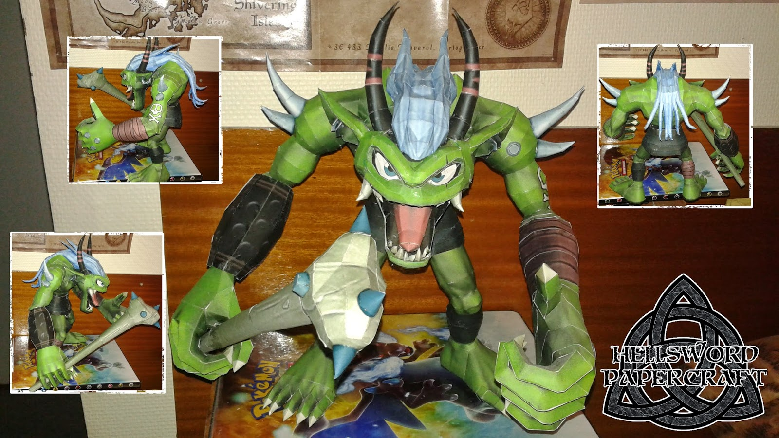 Digimon Ogremon Papercraft