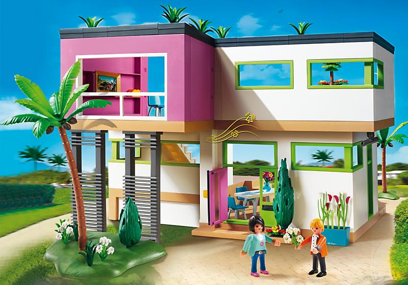 T a witty 2015 for Casa moderna playmobil 6784