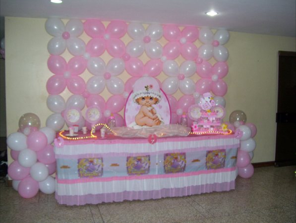 Full rumbitas baby shower decoraciones for Decoracion para baby shower en casa