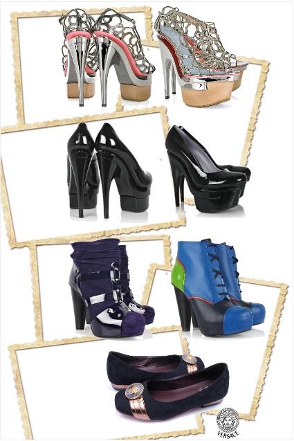 Versace, shoes, elegance, glamour, luxury, style, fashion