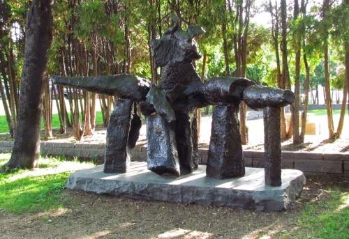 Jard n de las esculturas minneapolis usa de paso por - Esculturas para jardines ...