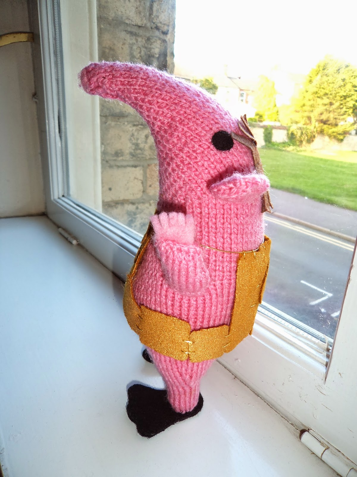 Through The Looking Glass: Major Knitting of Major Clanger