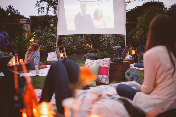 Colaboración Villeroy & Boch: Movie party al aire libre