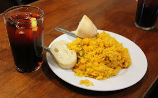Travel around Spain - Paella tapa