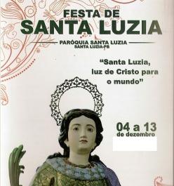 Festa da Padroeira Santa Luzia 2014