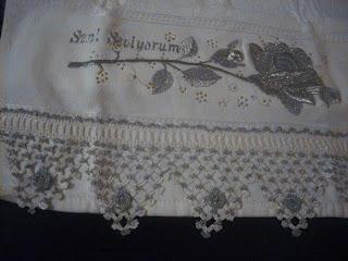 havlu kenarı danteli