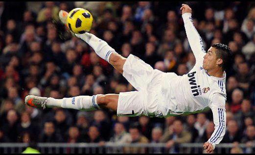 Bicycle cut of Cristiano RonaldoCristiano Ronaldo Bicycle Kick Wallpaper