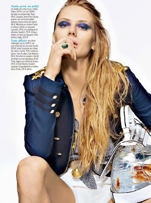 Sasha HQ Pictures Cosmopolitan France Magazine Photoshoot March 2014