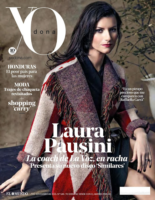 Singer @ Laura Pausini - Yo Dona Spain, November 2015
