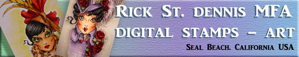 Rick St. Dennis Digital Stamps