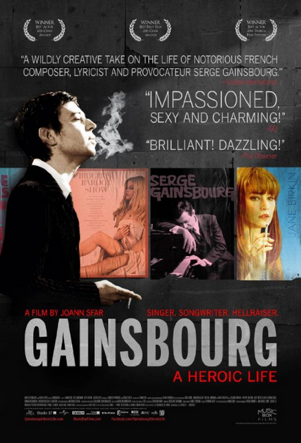 Familienfunk Filmtipp Gainsbourg - Der Mann, der die Frauen liebte