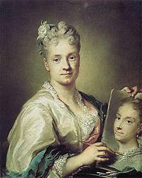 autorretrato de Rosalba Carriera. (Venecia1675-1757)