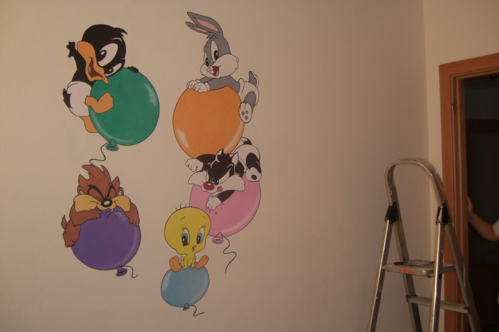 Adora arte mural murales infantiles for Materiales para pintar un mural