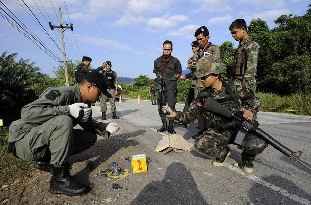 Bomb Leaves Six Dead In Thailand's Restive South