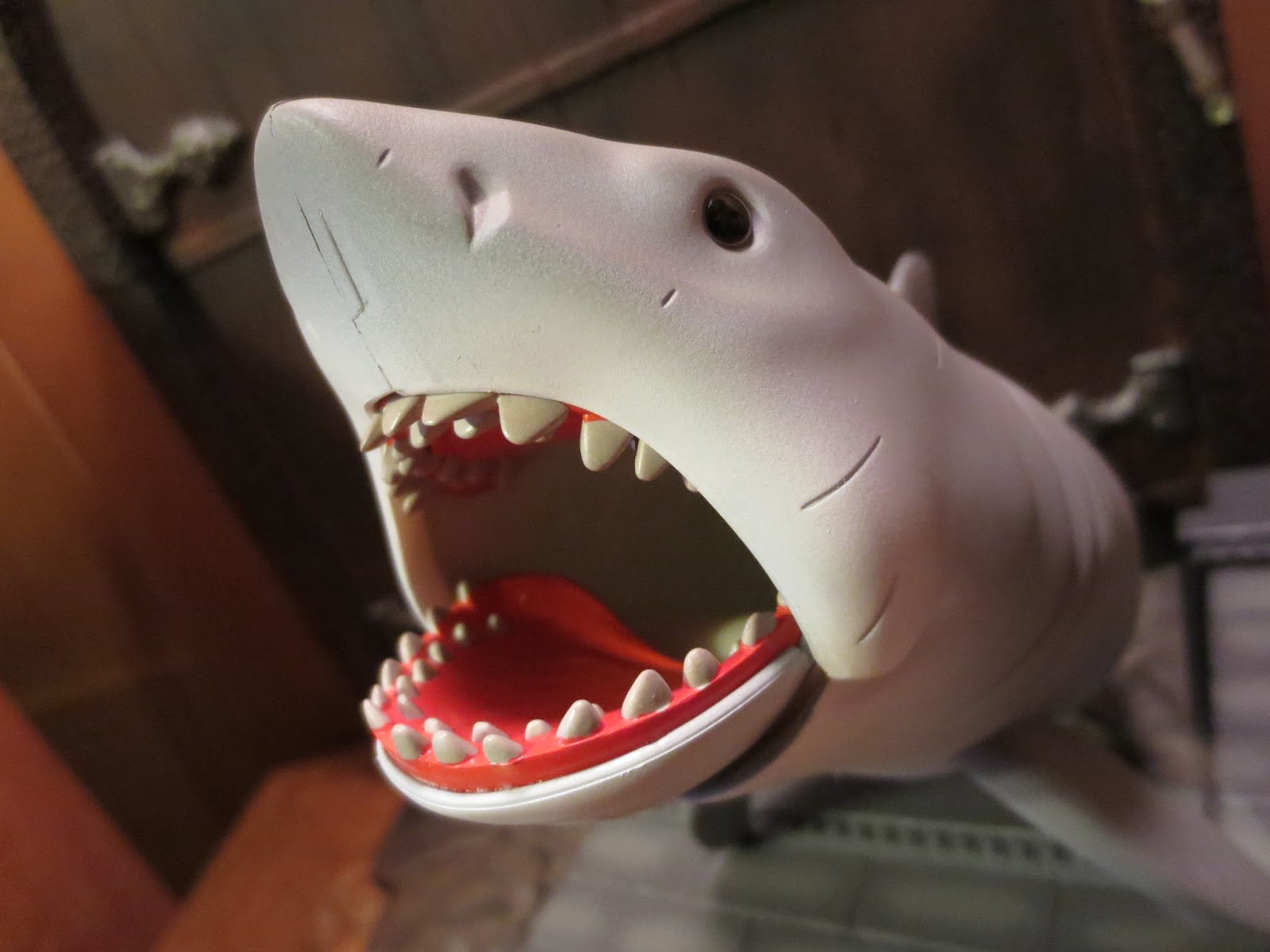 Great White Shark Jaws Toys : Action figure barbecue re halloween special great white