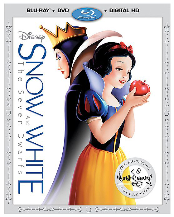 2cf161dcb6 The Snow White  apple trance  artwork from the 2001 Platinum Edition was  brought back and enhanced with the addition of the Evil Queen.