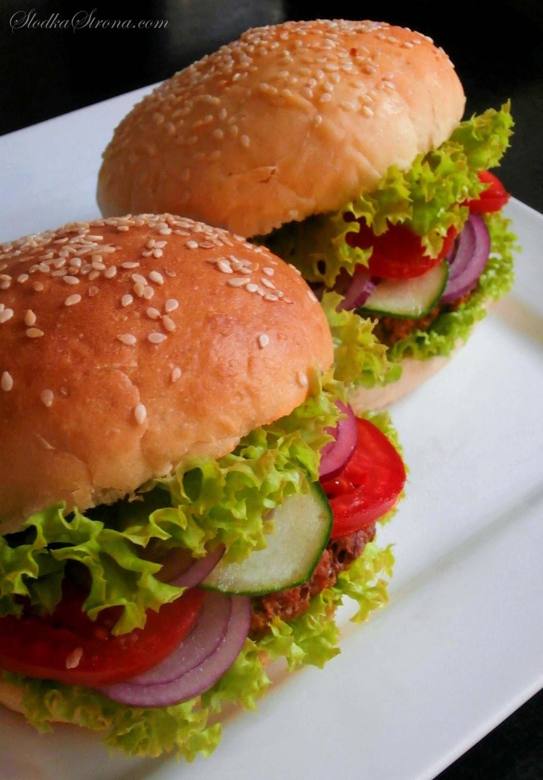jak zrobic domowe hamburgery