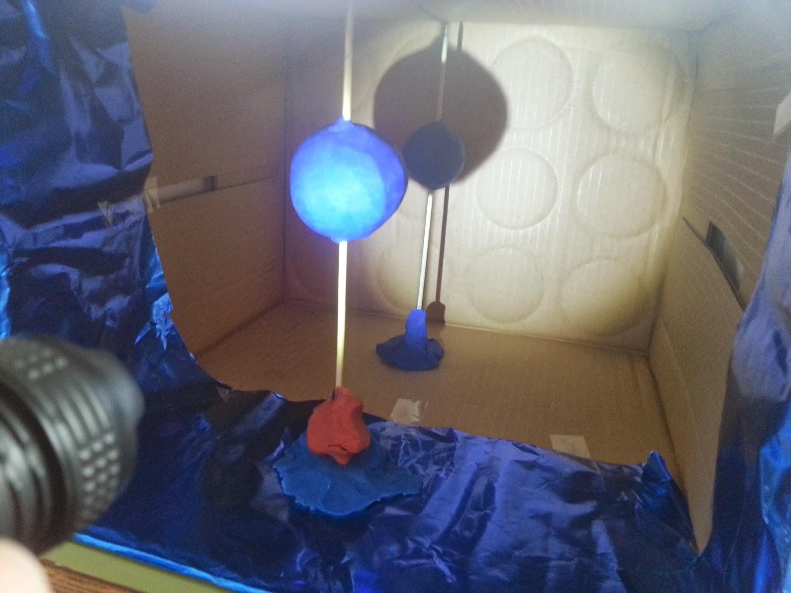 Pequeños grandes astrónomos: Experiencia sobre los eclipses lunares