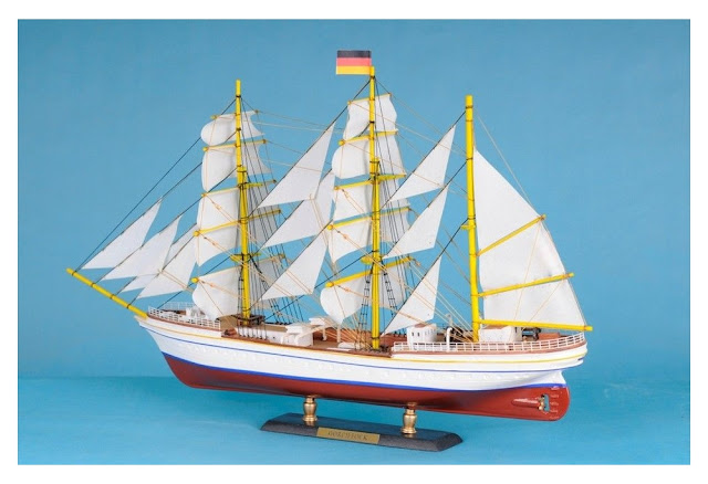 Gorch Fock Wooden Tall Ship Model Replica