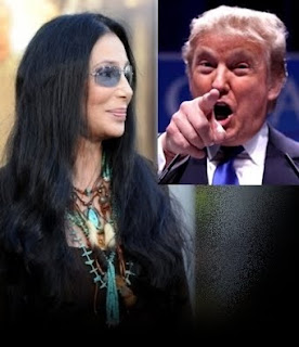 Cher and Donald Trump