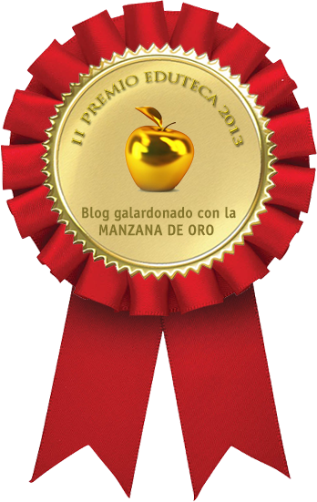 Ganamos la MANZANA DE ORO en los II Premios Eduteca 2013