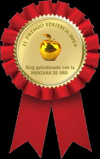 Ganamos la MANZANA DE ORO en los II Premios Eduteca 2013