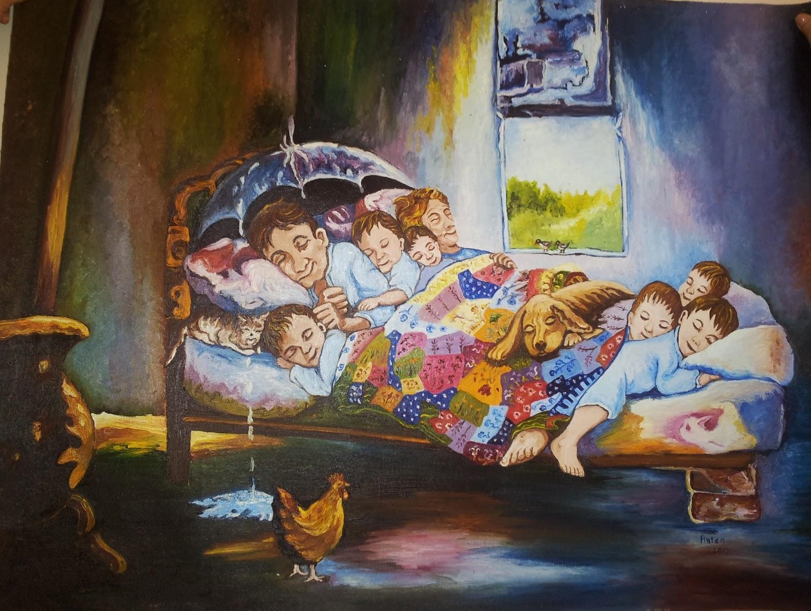 yağlı boya tablolar: mutluluğun resmi