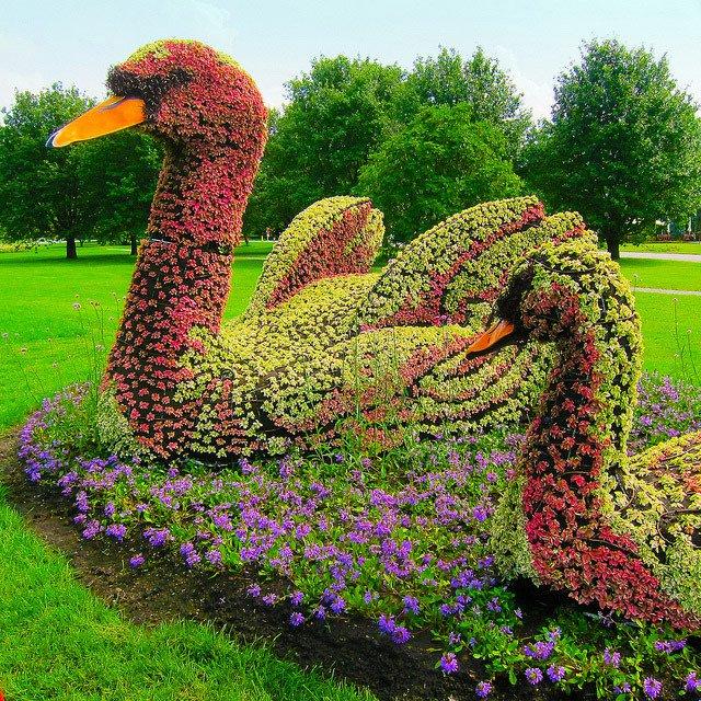 esculturas para jardines