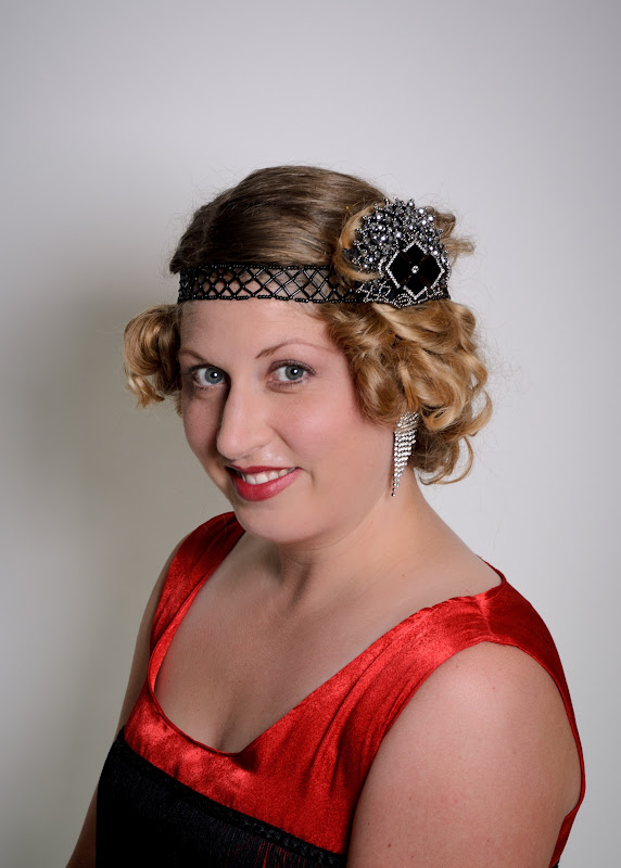 1920 Headpieces http://lilybugdesigns.blogspot.com/2012/06/1920s-headpiece.html