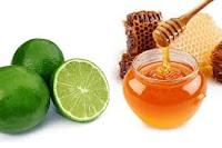 Làm căng da mặt với mặt nạ đậu đỏ + mật ong + nước chanh