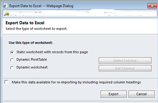 Daynight: Microsoft Dynamics CRM 2011 Data Management - Import ...