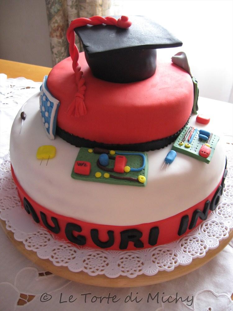 Torta Laurea Ingegneria Elettronica Le Torte Di Michy