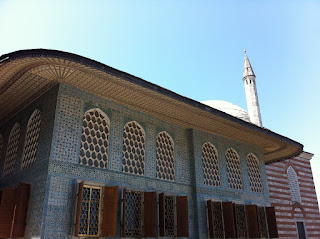 One of the buildings inside the Topkapi Palace Harem.