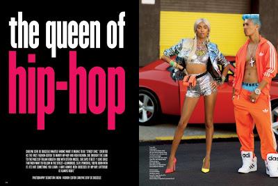 Anais Mali, Chrishell Stubbs et Cora Emmanuel en mode Hip Hop Queens pour V Magazine #75