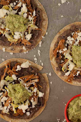 Slow Cooker Tlayuda (Mexican Pizza)