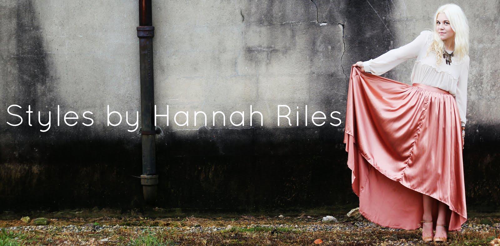 Styles by Hannah Riles