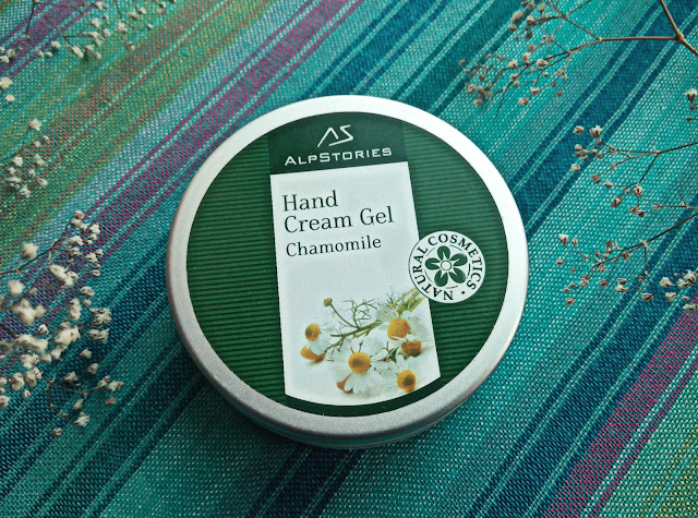 "AlpStories Hand Cream Gel Chamomile Крем-гель для рук ""Ромашка"""