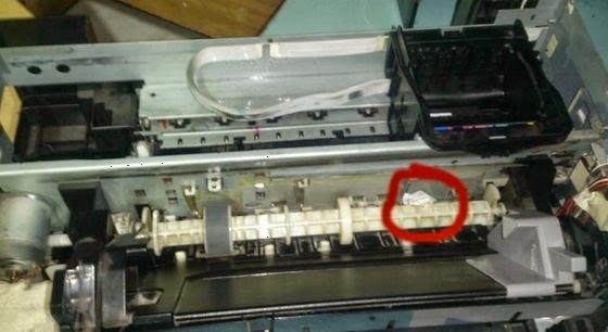 Драйвер на принтер epson l1800