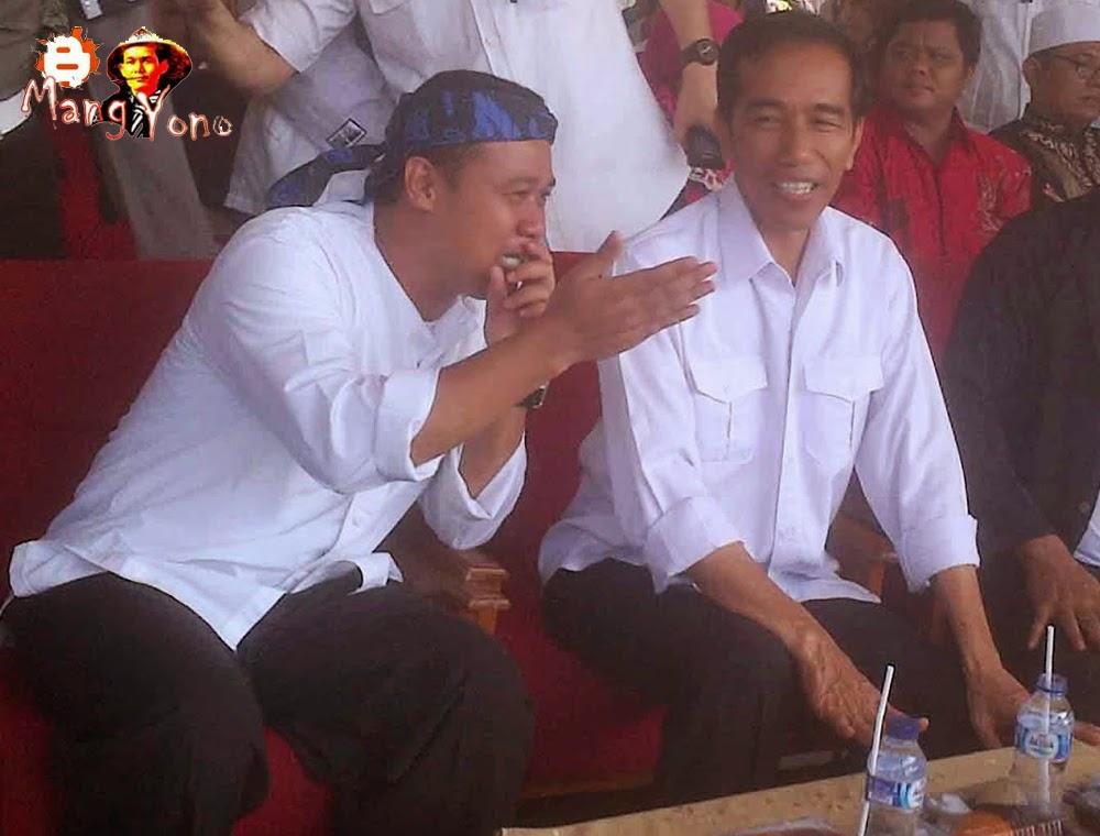 Jokowi calon Presiden nomor Urut 2 akan berkunjung ke Pagaden