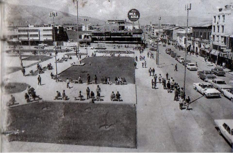 Plaza Constitución 70's