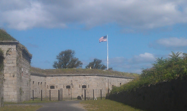 Fort Adams Backside