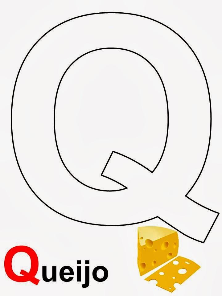 alfabeto queijo